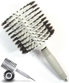 kulatý hřeben na vlasy