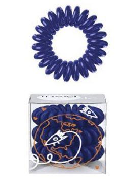 INVISIBOBBLE Hair Ring Universal Blue 3ks - Spirálová gumička do vlasů - tmavě  modrá 591e1858f8