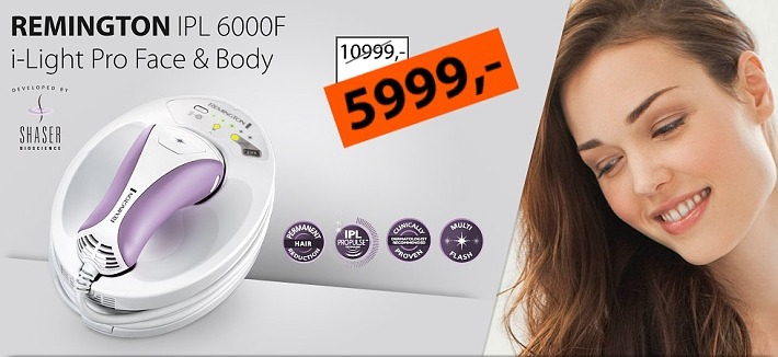 Remington IPL 600F epilator
